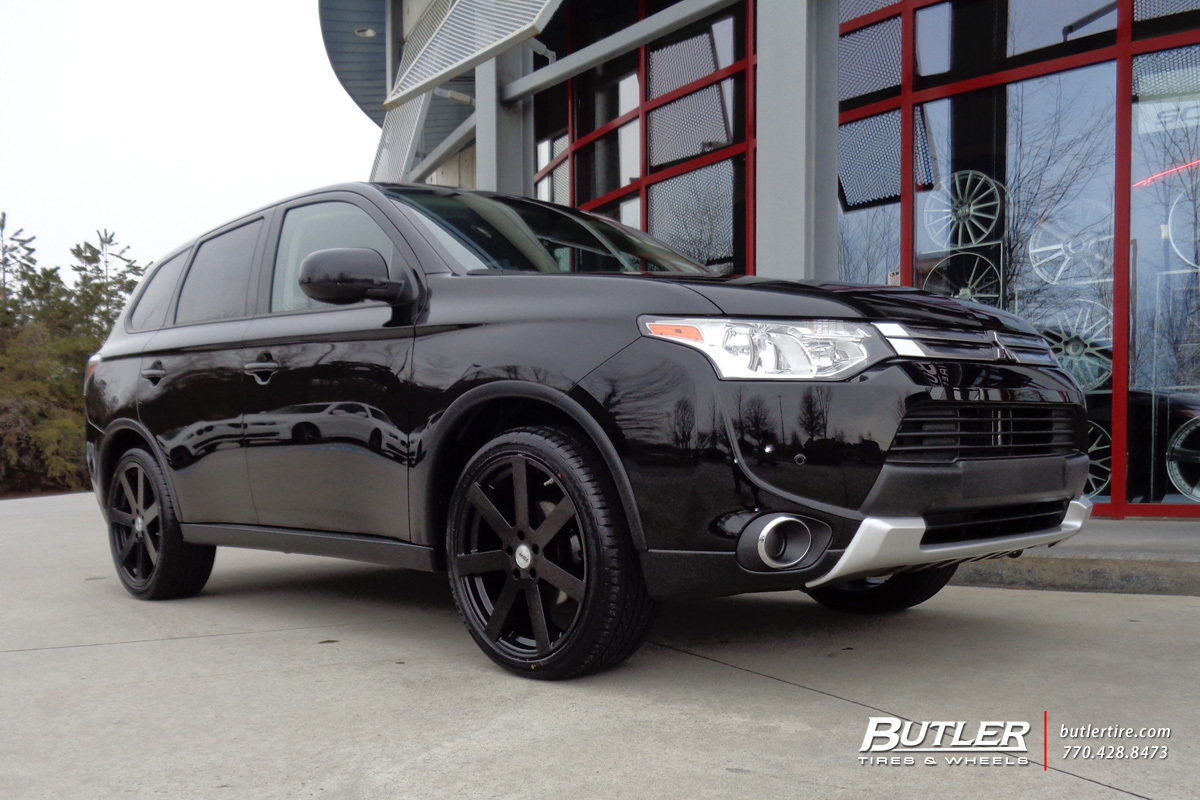 Mitsubishi Outlander with 20in TSW Bardo Wheels exclusively from Butler Tires and Wheels in ...