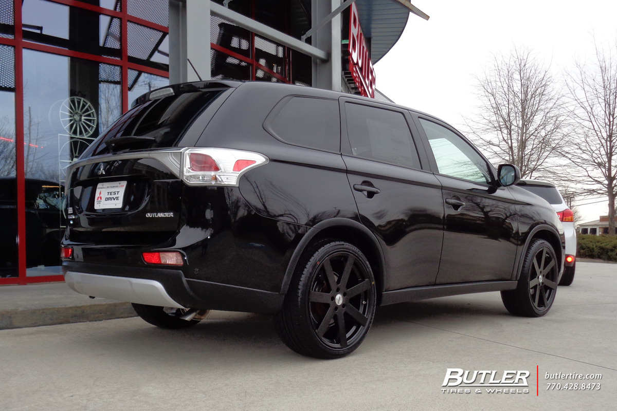 Mitsubishi Outlander with 20in TSW Bardo Wheels