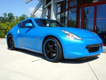 Nissan 370Z with 20in Antera 343 Wheels