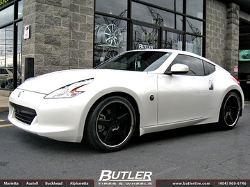 Nissan 370Z with 20in Niche Nurburg Wheels