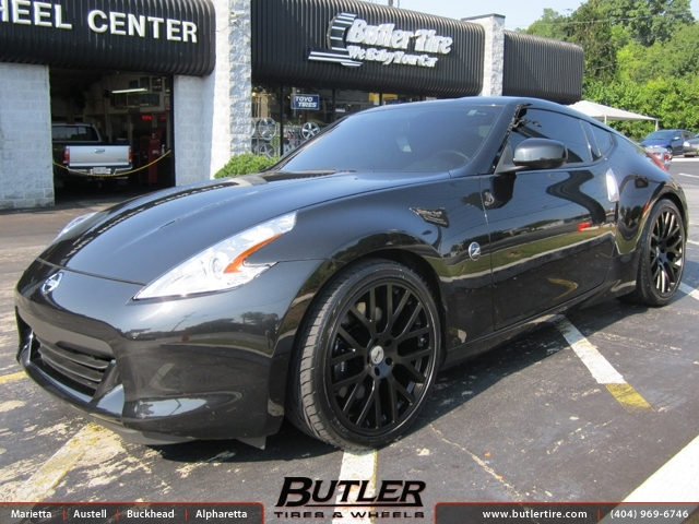 Nissan 370Z with 20in TSW Donington Wheels exclusively ...