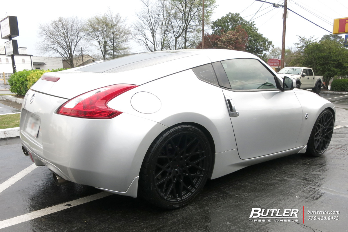 Nissan 370Z with 20in TSW Vale Wheels