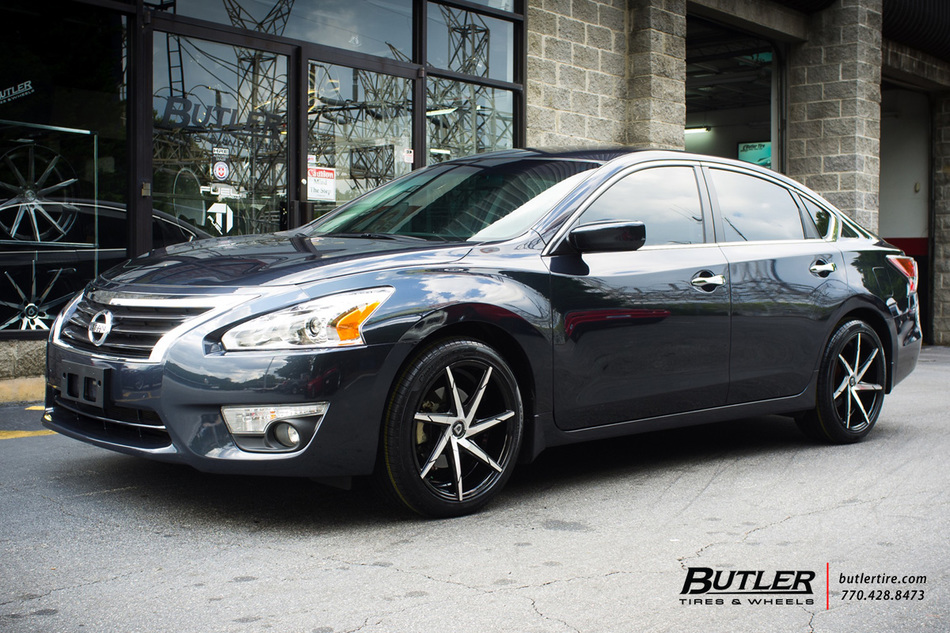 Nissan Altima With 18in Lexani Css7 Wheels Exclusively