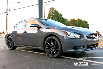 Nissan Altima with 20in Lexani CSS8 Wheels