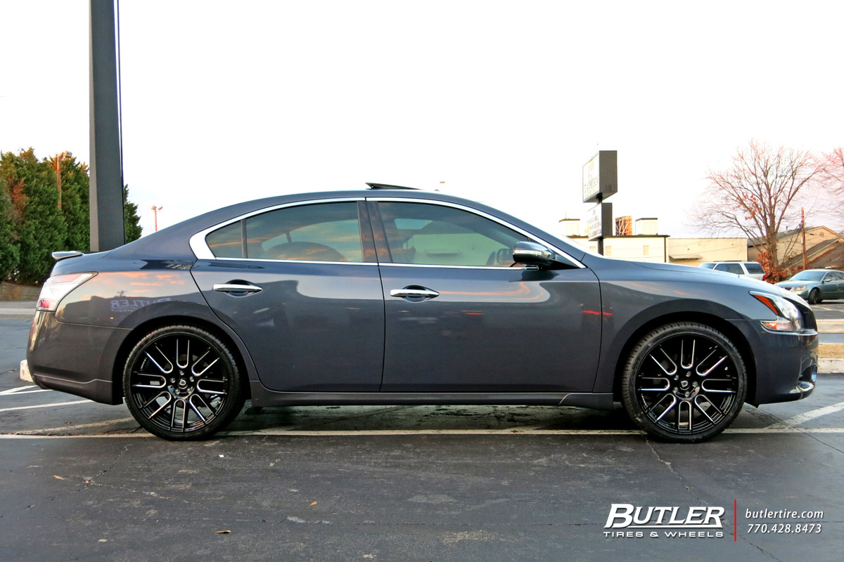 Nissan Altima With 20in Lexani Css8 Wheels Exclusively