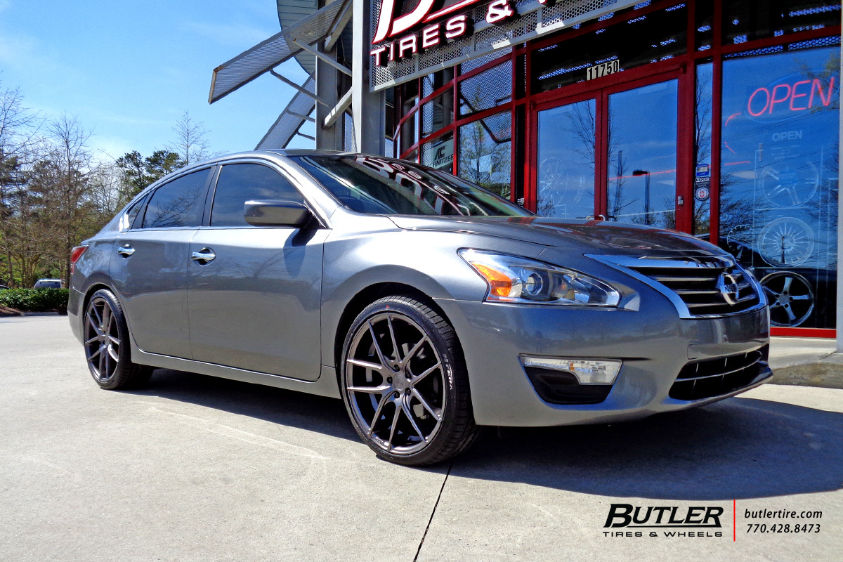 Nissan Altima With 20in Niche Targa Wheels Exclusively From Butler Tires And Wheels In Atlanta