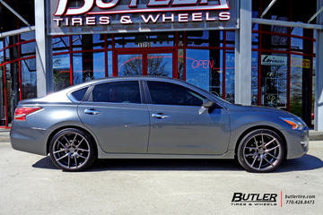 Nissan Altima with 20in Niche Targa Wheels