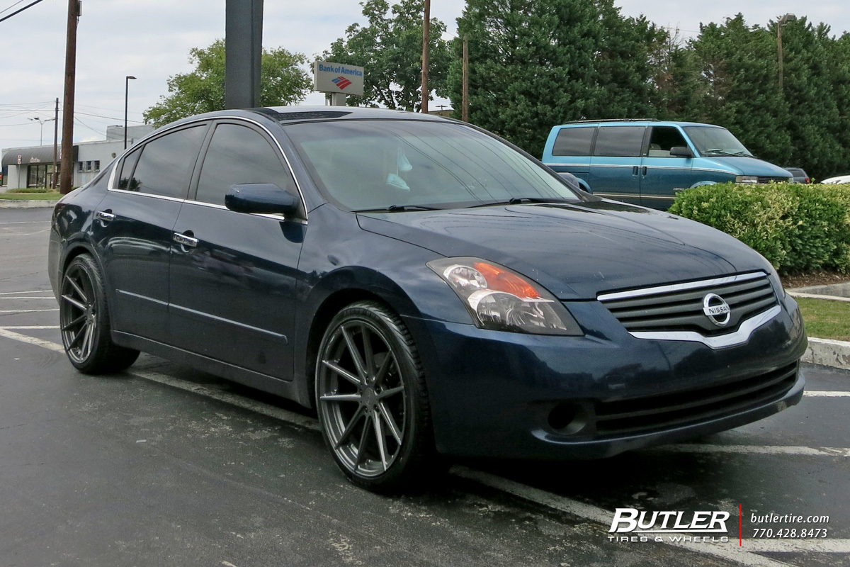 Nissan Altima With 20in Tsw Bathurst Wheels Exclusively From Butler Tires And Wheels In Atlanta