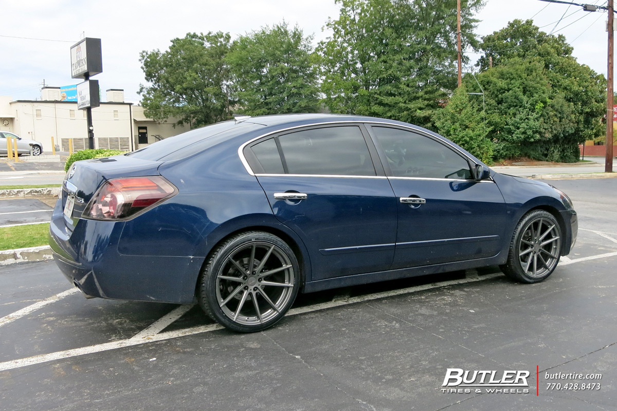 Nissan Altima with 20in TSW Bathurst Wheels exclusively from