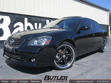 Nissan Altima with 20in TSW Carthage Wheels