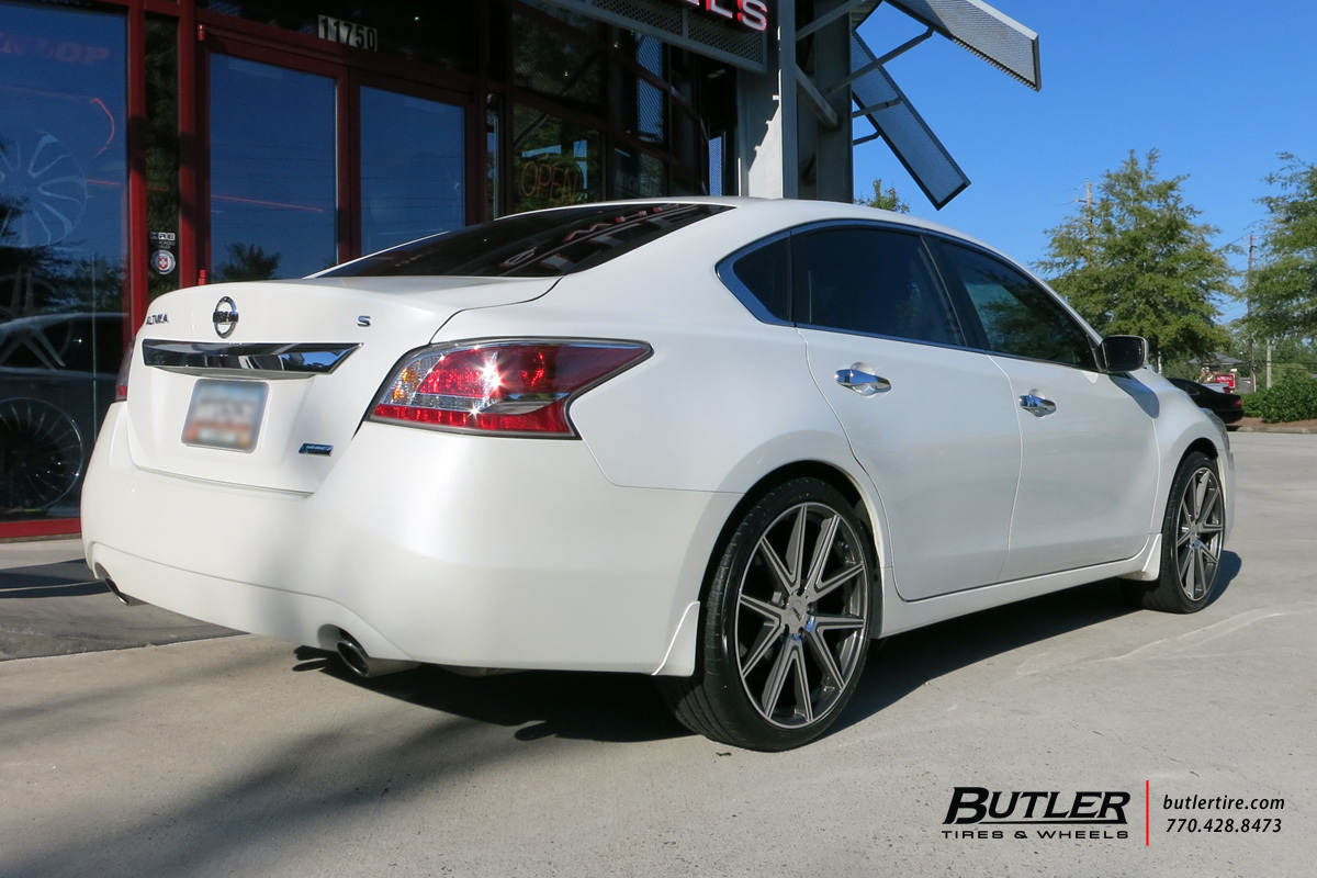 Nissan Altima with 20in TSW Rouge Wheels