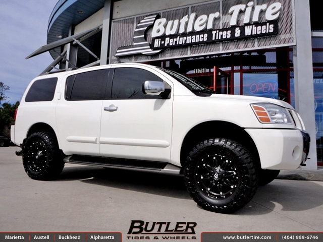 Nissan Armada with 18in Fuel Hostage Wheels
