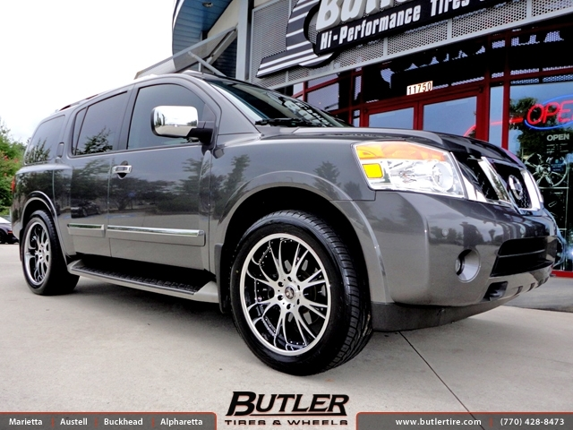 Nissan Armada With 22in Dub X 12 Wheels Exclusively From