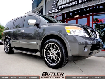 Nissan Armada with 22in DUB X-12 Wheels