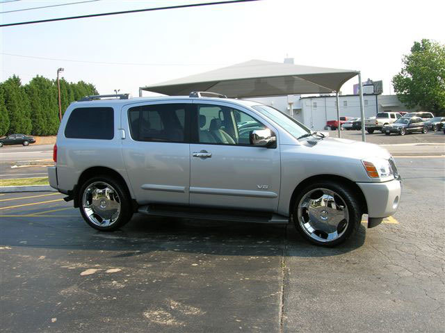 Nissan Armada with 22in Driv Don Wheels