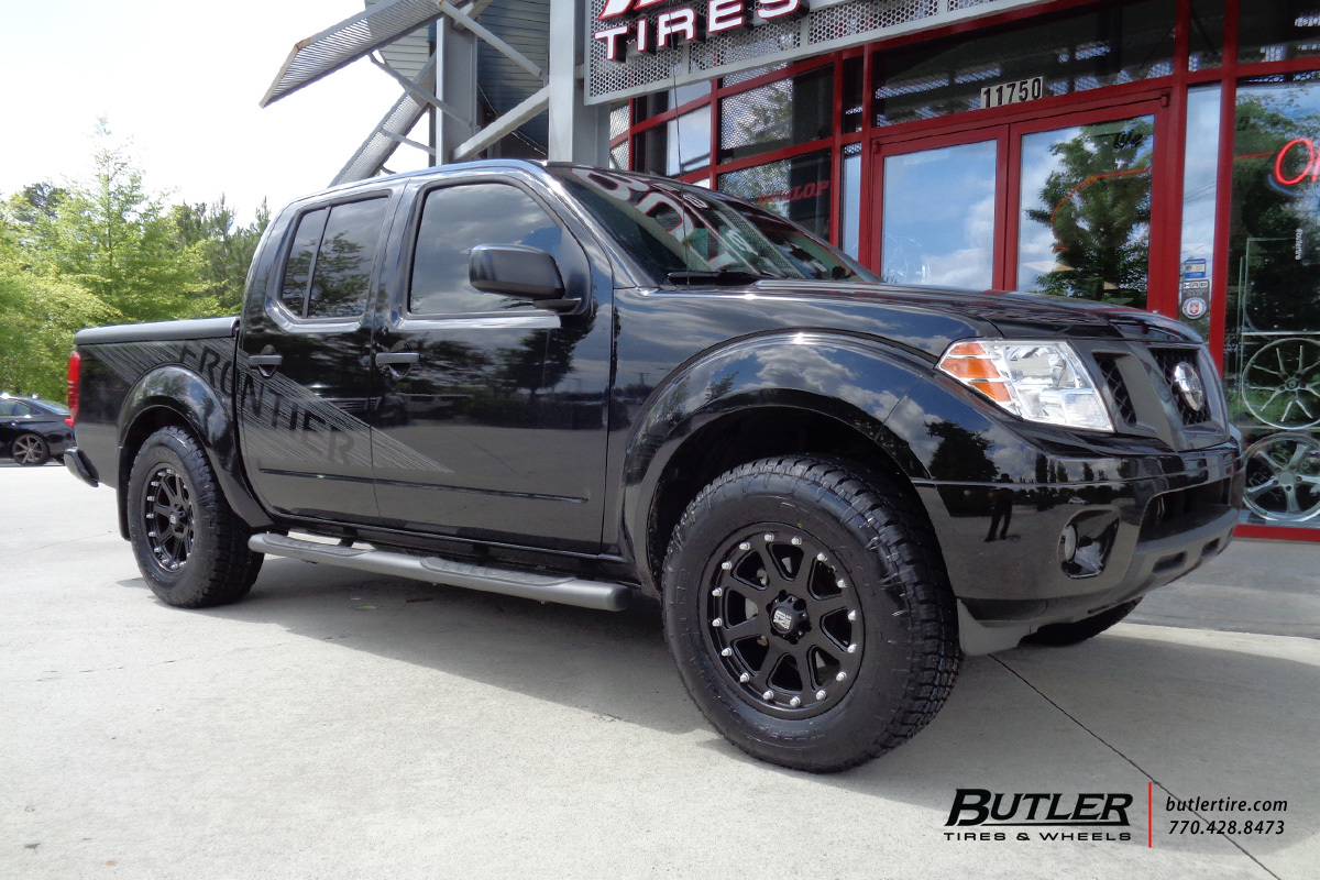 Nissan Frontier with 18in XD Addict Wheels