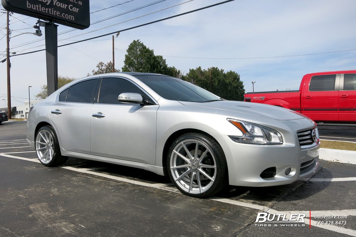 Nissan Maxima with 20in TSW Bathurst Wheels exclusively ...