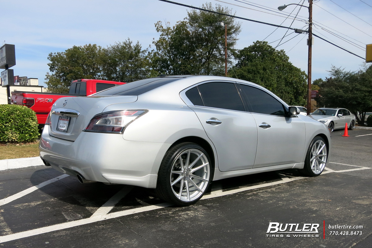 Nissan Maxima with 20in TSW Bathurst Wheels