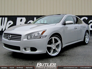 Nissan Maxima with 20in TSW Panorama Wheels