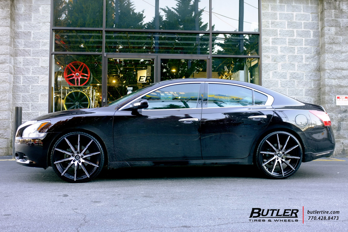 Nissan Maxima with 22in Lexani CSS15 Wheels