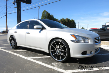 Nissan Maxima with 22in Lexani R-Twelve Wheels