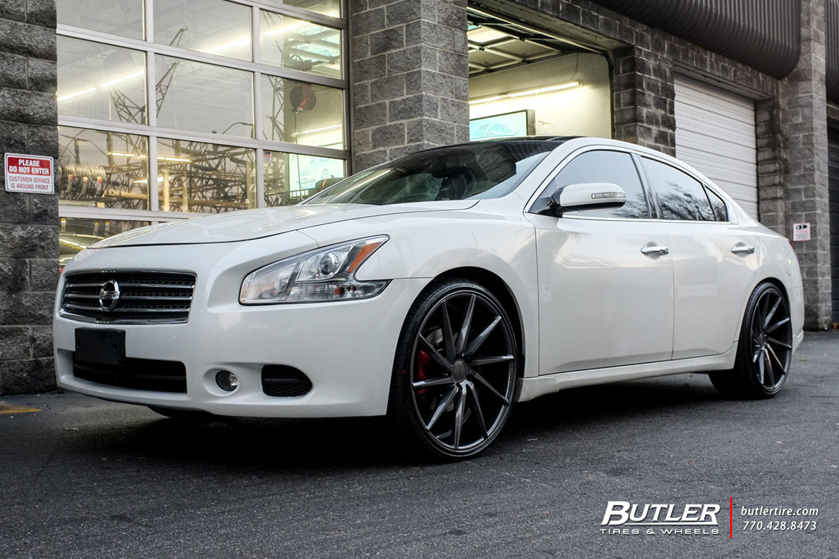 Nissan Maxima With 22in Vossen Cvt Wheels Exclusively From