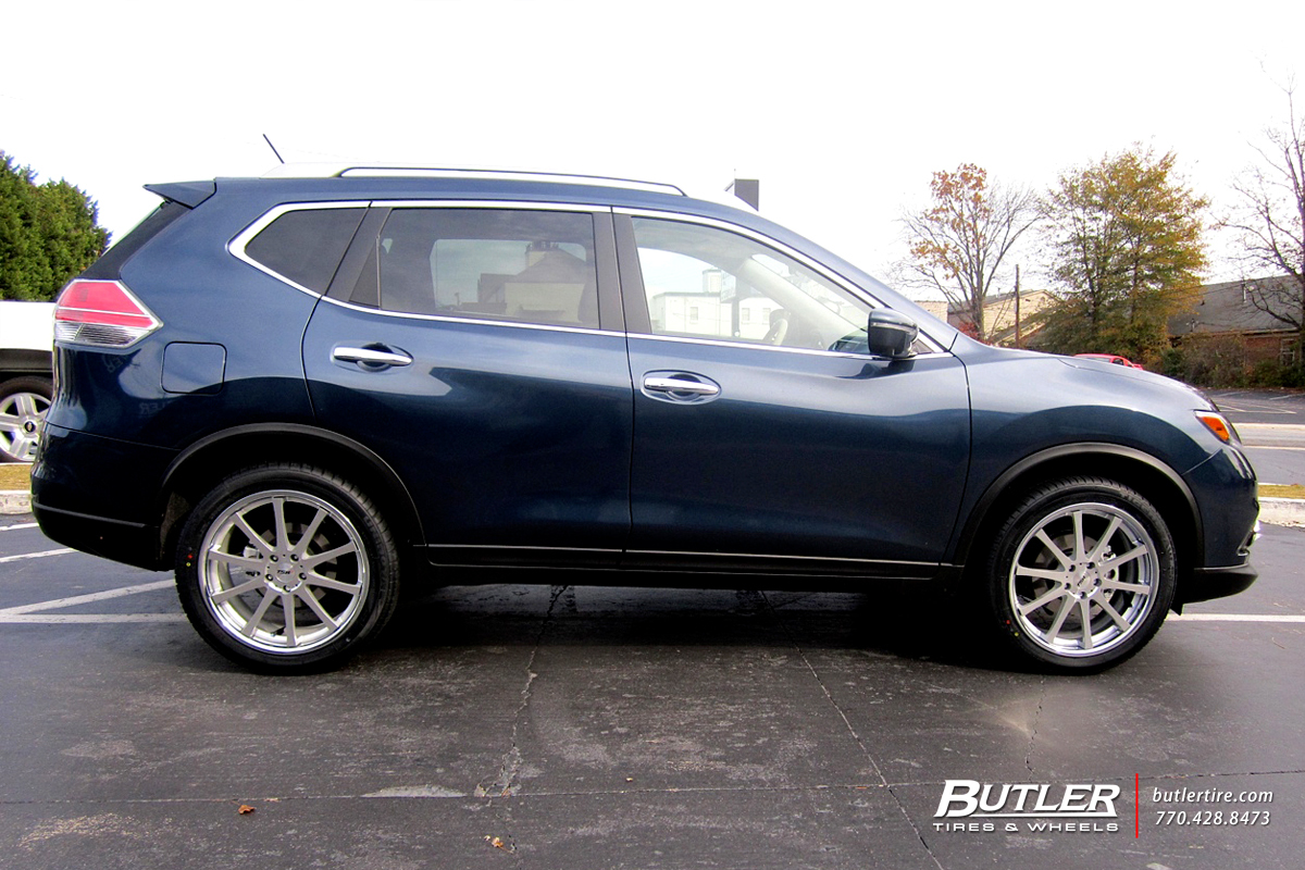 Nissan Rogue with 20in TSW Jerez Wheels exclusively from
