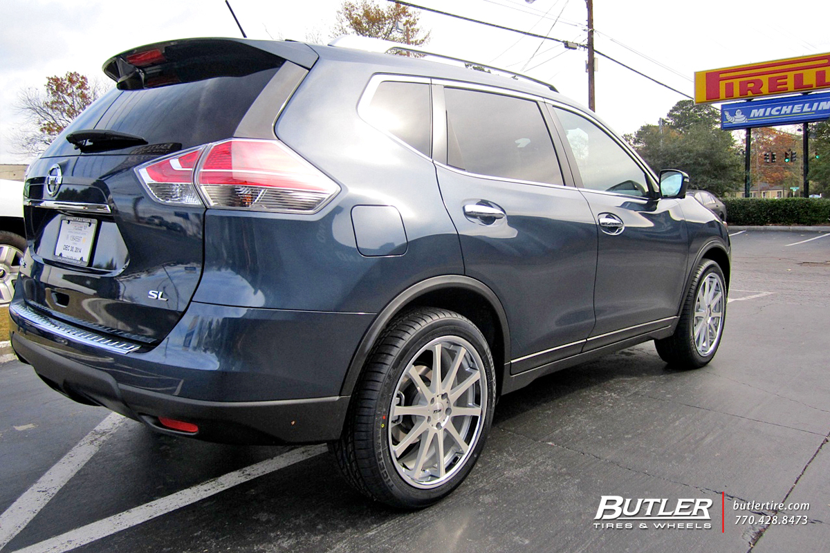 Nissan Rogue with 20in TSW Jerez Wheels