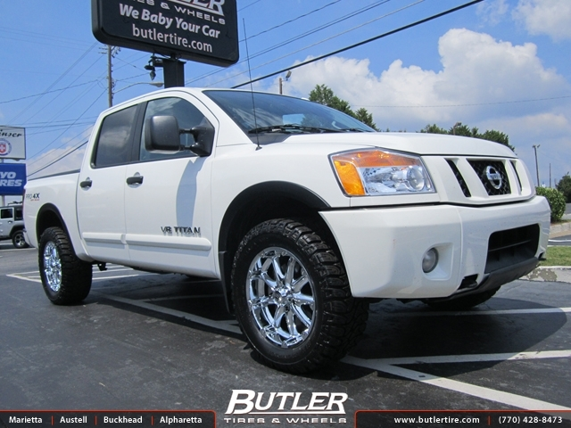 Nissan Titan With 20in Xd Hostage Wheels Exclusively From