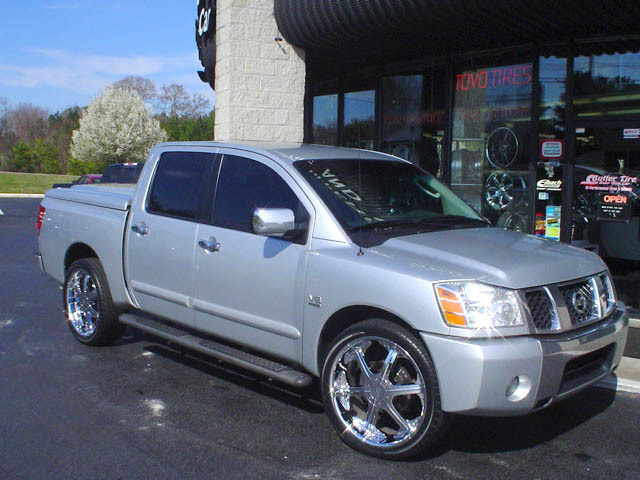 Nissan Titan with 24in ARE Titan Wheels