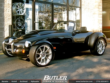 Panoz Roadster with 19in TSW Interlagos Wheels