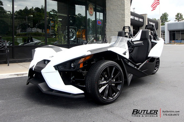 Polaris Slingshot with 20in TSW Aileron Wheels