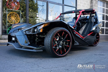 Polaris Slingshot with 22in Lexani R-Twelve Wheels