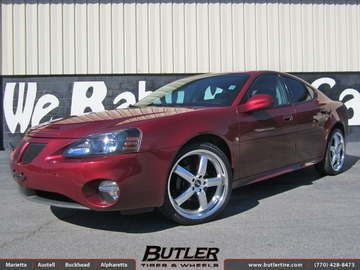 Pontiac Grand Prix with 20in TSW Stowe Wheels