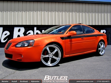 Pontiac Grand Prix with 22in TSW Jarama Wheels