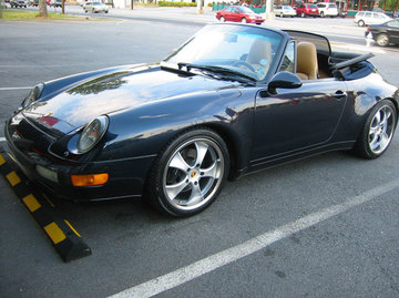 Porsche 911 with 18in Antera 343 Wheels
