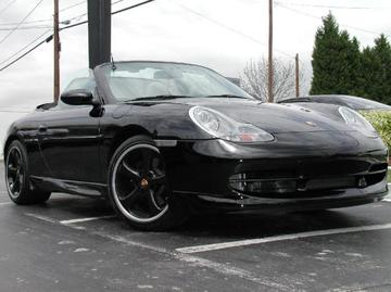 Porsche 911 with 18in TechArt Formula Wheels