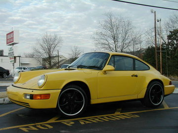 Porsche 911 with 19in TechArt Formula Wheels