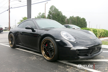 Porsche 911 with 20in ADV1 ADV5 Wheels