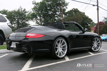 Porsche 911 with 20in Savini BM12 Wheels