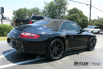 Porsche 911 with 20in Vorsteiner V-FF 101 Wheels