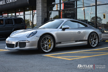 Porsche 911R with 20in BBS F1 Wheels
