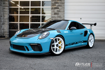 Porsche 911 - GT3RS with 21in Vossen S21-01 Wheels