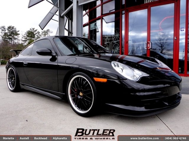 Porsche 911 GT3 with 19in Victor Lemans Wheels