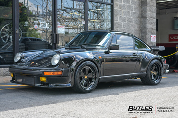 Porsche 911 Turbo with 18in Formula Fuchs Wheels