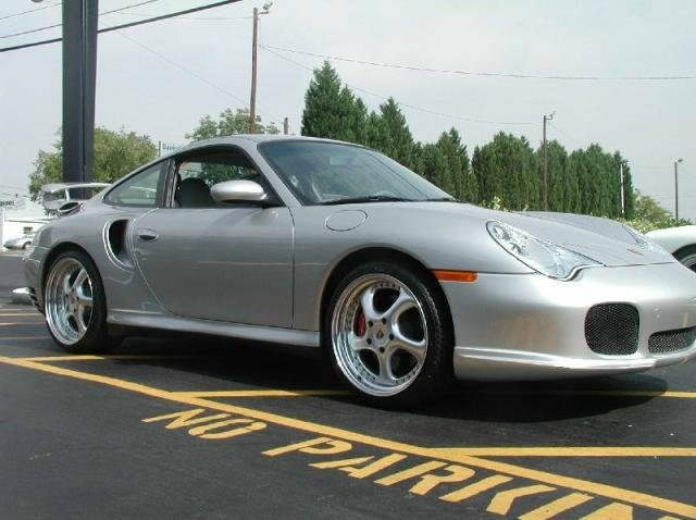 Porsche 911 Turbo with 18in Gemballa Turbosport Wheels