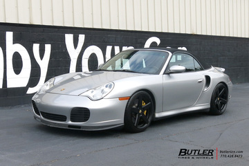Porsche 911 Turbo with 18in Victor Baden Wheels