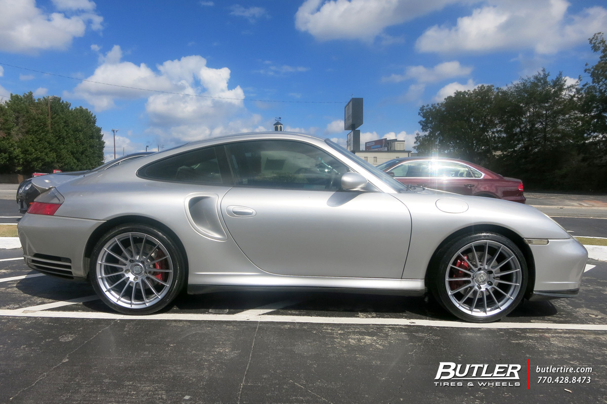 porsche 911 turbo with 19in hre ff15 wheels exclusively. Black Bedroom Furniture Sets. Home Design Ideas