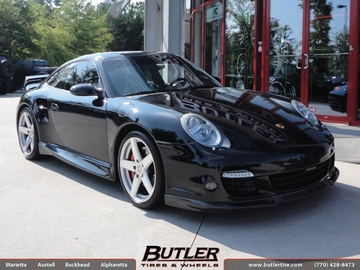 Porsche 911 Turbo with 19in Victor Baden Wheels