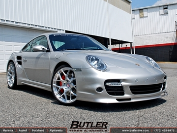 Porsche 911 Turbo with 20in HRE P40SC Wheels